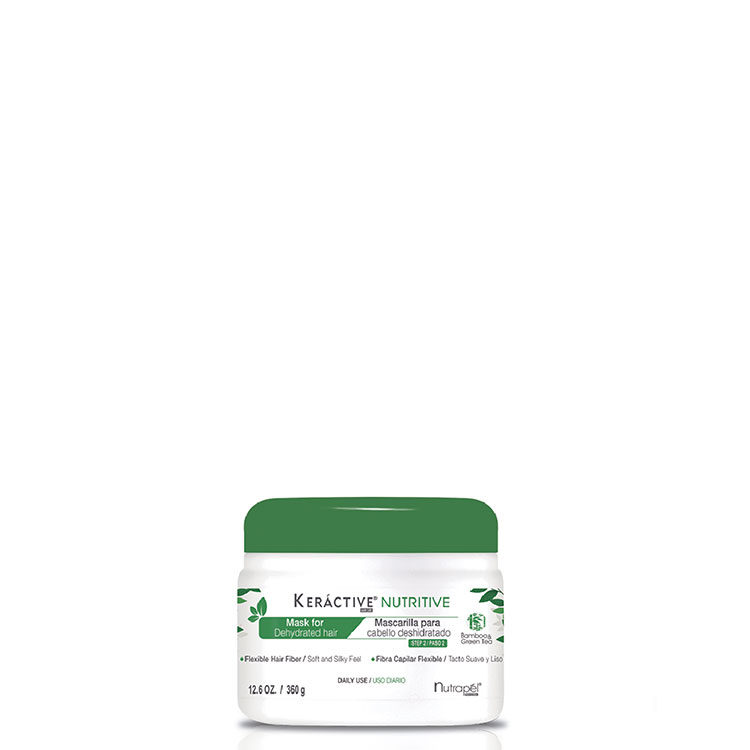 Keractive Nutritive Mask with Bamboo, Green Tea and Amino acids for Dehydrated Hair