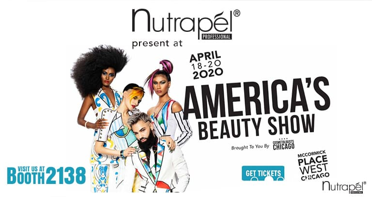 Nutrapél Professional Hair Care present at the America´s Beauty Show
