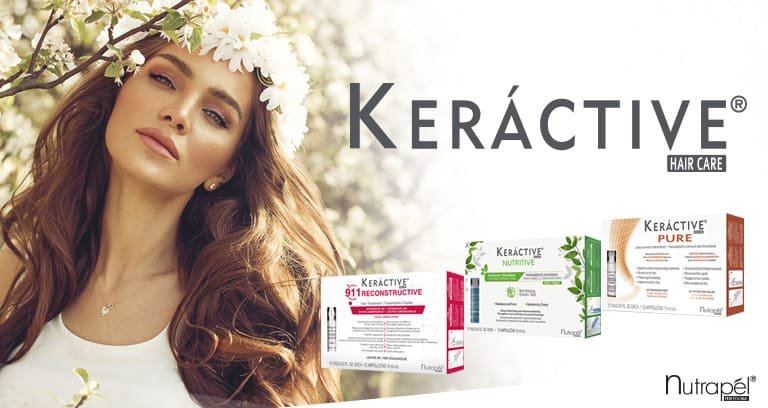 Intensive treatments for hair care without leaving home - Keractive
