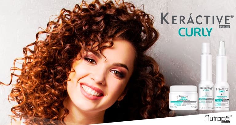 Elastic and defined curls with Keráctive Curly