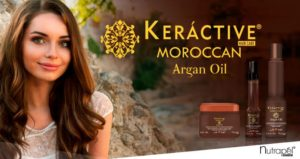 Recover the natural beauty of hair with Keráctive Moroccan