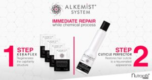 Repair your client's hair while performing chemical treatments with Alkemist System