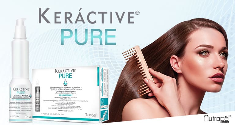 Keractive Pure, Nutrapel Professional Hair Care