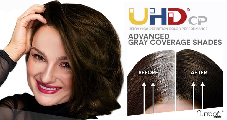 Are your clients suffering from gray hair? UHDcp by Nutrapél